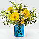 Something Blue™ Bouquet by FTD®- VASE INCLUDED - Thumbnail 1 Of 2