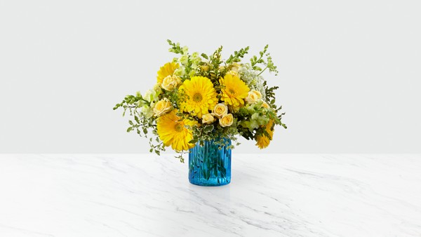 Something Blue™ Bouquet by Better Homes and Gardens®- VASE INCLUDED - Thumbnail 1 Of 2