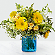 Something Blue™ Bouquet by FTD® - VASE INCLUDED - Thumbnail 1 Of 3