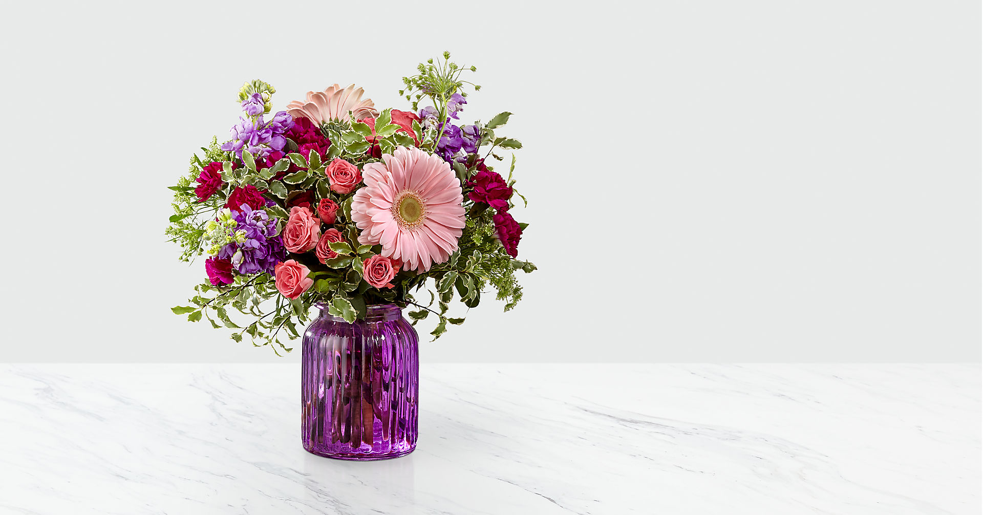 Purple Prose™ Bouquet by FTD® - Image 1 Of 3