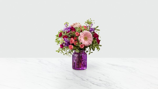 Purple Prose™ Bouquet by Better Homes and Gardens® - Thumbnail 1 Of 2