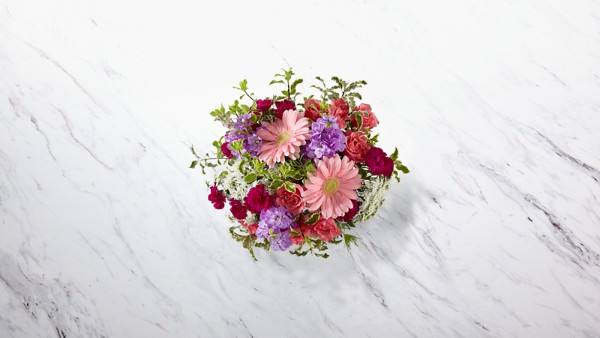 Purple Prose™ Bouquet by Better Homes and Gardens® - Image 2 Of 2
