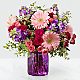 Purple Prose™ Bouquet by FTD®- VASE INCLUDED - Thumbnail 1 Of 3