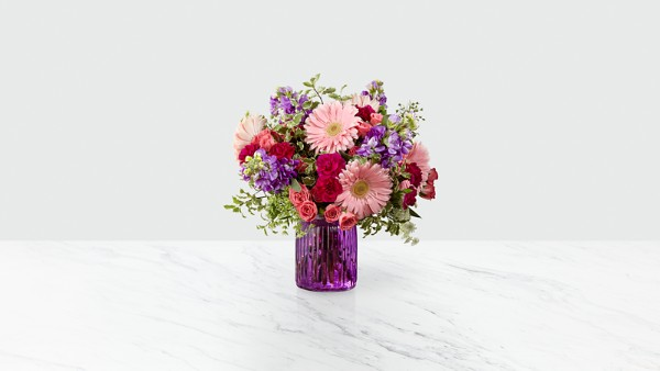 Purple Prose™ Bouquet by FTD®- VASE INCLUDED - Image 1 Of 2