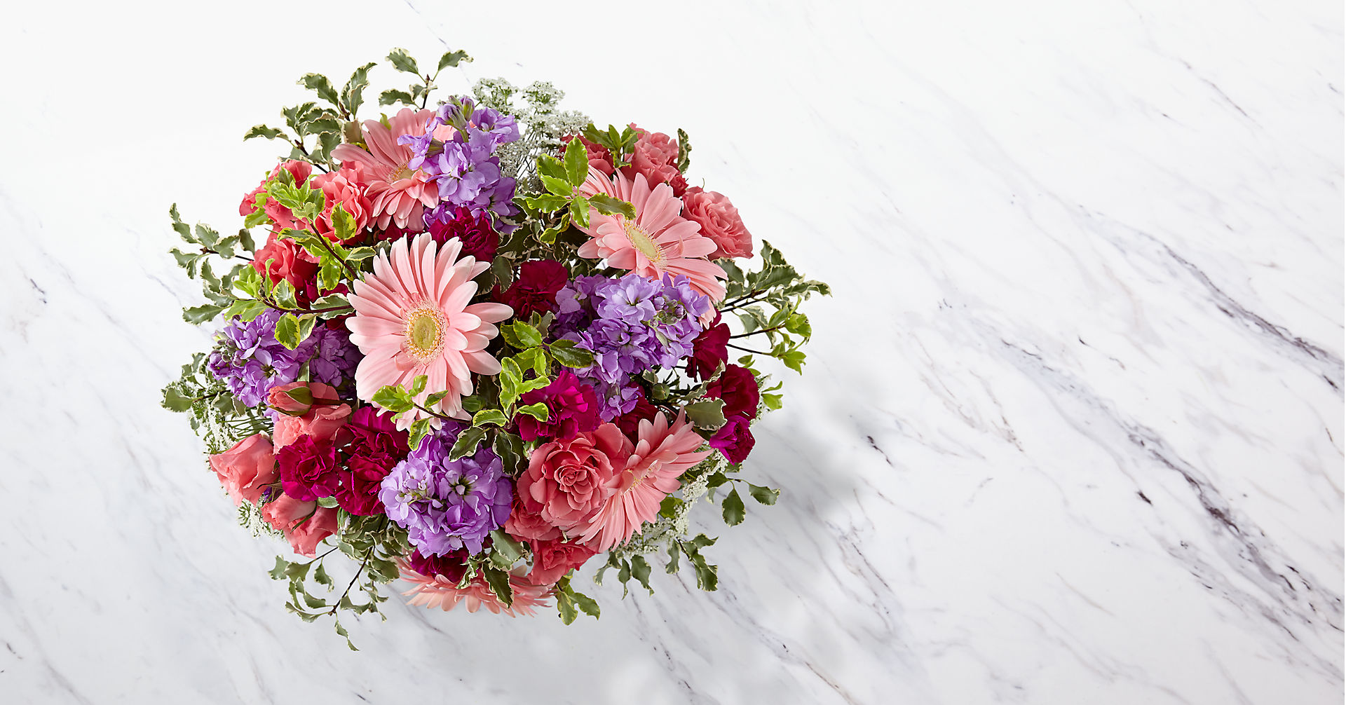 Purple Prose™ Bouquet by FTD®- VASE INCLUDED - Image 2 Of 3
