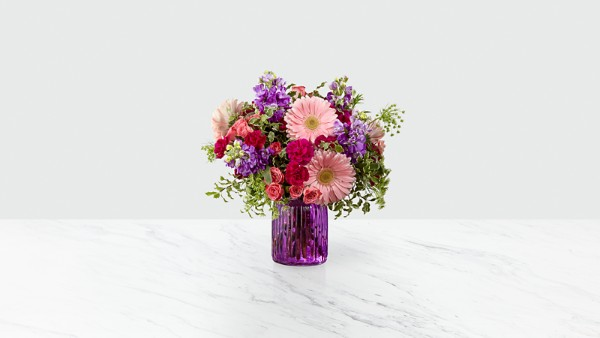 Purple Prose™ Bouquet by FTD® - VASE INCLUDED - Image 1 Of 3
