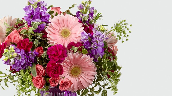 Purple Prose™ Bouquet by FTD® - VASE INCLUDED - Image 3 Of 3