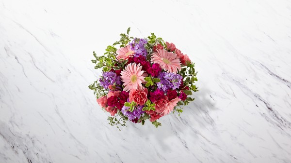 Purple Prose™ Bouquet by FTD® - VASE INCLUDED - Image 2 Of 3