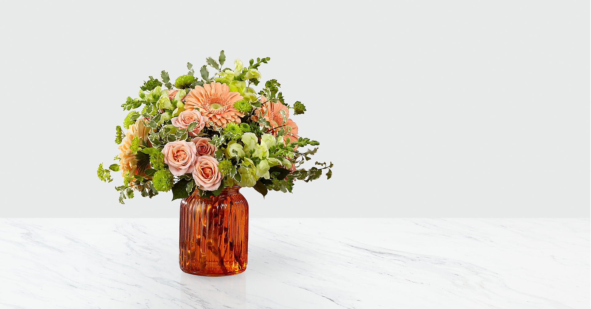 Peachy Keen™ Bouquet by FTD® - Image 1 Of 3