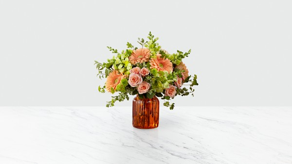 Peachy Keen™ Bouquet by FTD® - VASE INCLUDED - Image 1 Of 2