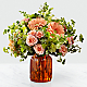 Peachy Keen™ Bouquet by FTD® - VASE INCLUDED - Thumbnail 1 Of 3
