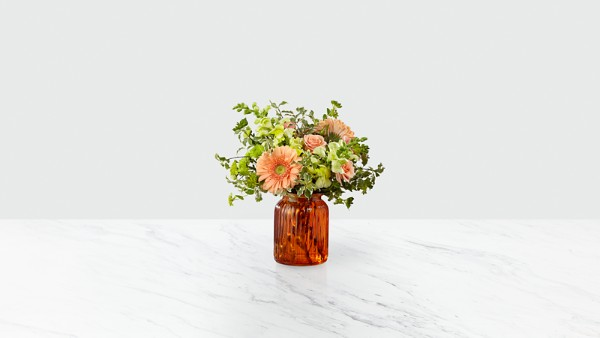 Peachy Keen™ Bouquet by FTD®- VASE INCLUDED - Image 1 Of 2