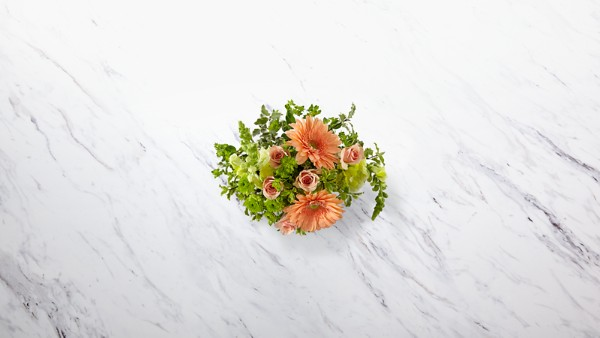 Peachy Keen™ Bouquet by FTD®- VASE INCLUDED - Image 2 Of 2