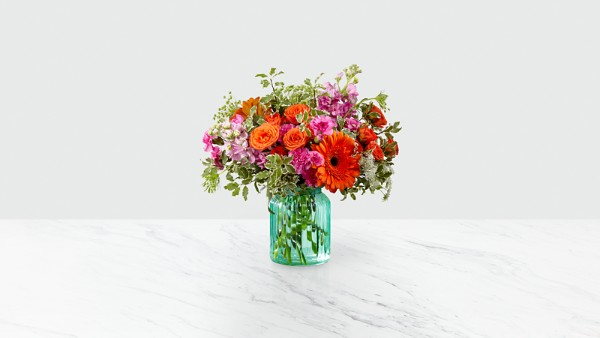 Aqua Escape™ Bouquet by Better Homes and Gardens® - Image 1 Of 2