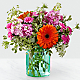 Aqua Escape™ Bouquet by FTD® - VASE INCLUDED - Thumbnail 1 Of 4