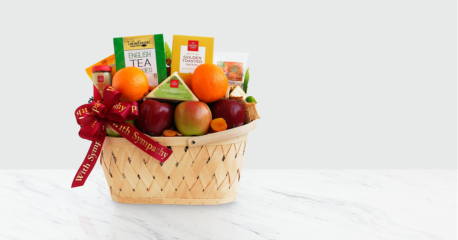 Fruitful Greeting Gourmet Basket - Good