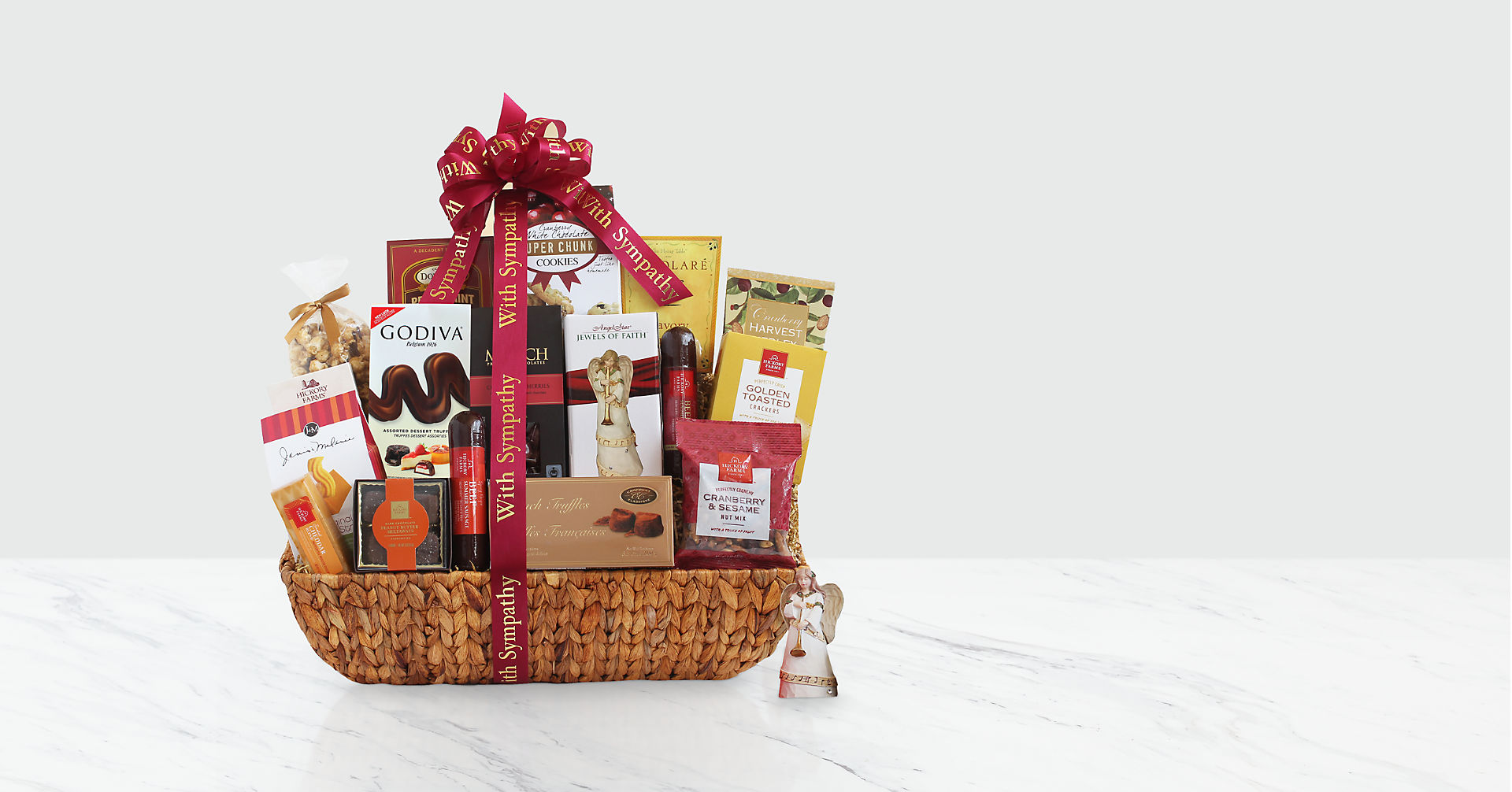 Peace, Prayer and Blessings Sympathy Basket