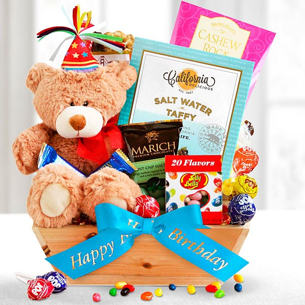 Birthday Bear Surprise Package