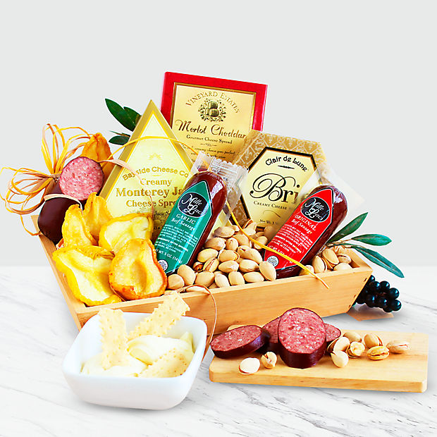 Meat & Cheese Gift Crate - Good
