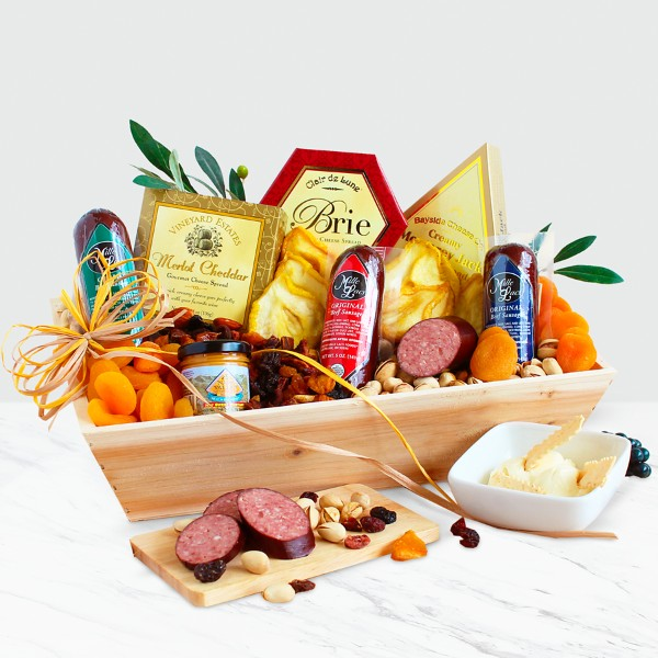 Meat & Cheese Gift Crate