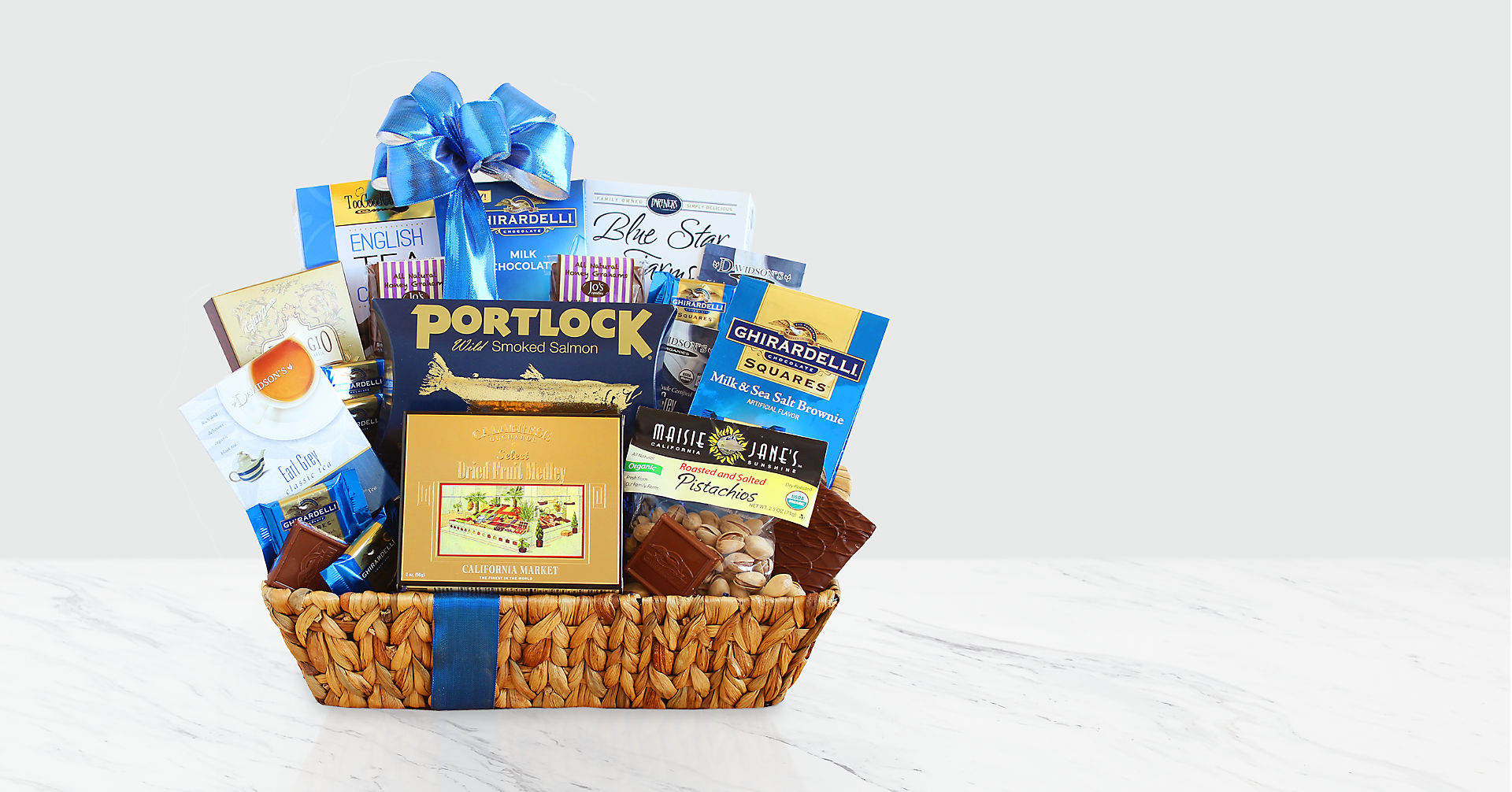 Happy Hanukah Kosher Gift Basket