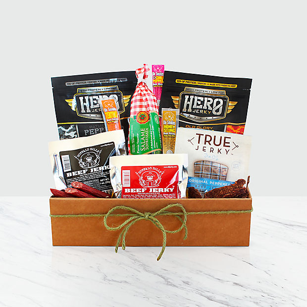 Meat Lover's Jerky Gift Box