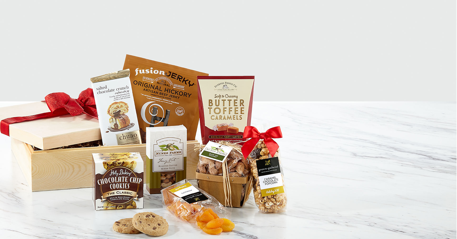 grown+gathered™ Savory Snacks Crate - Image 1 Of 2
