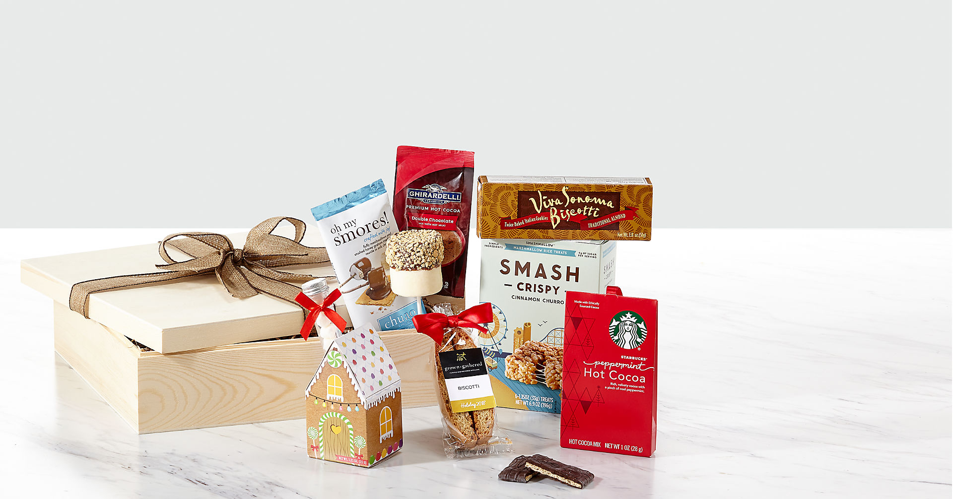 grown+gathered™ Hot Cocoa Crate - Image 1 Of 2
