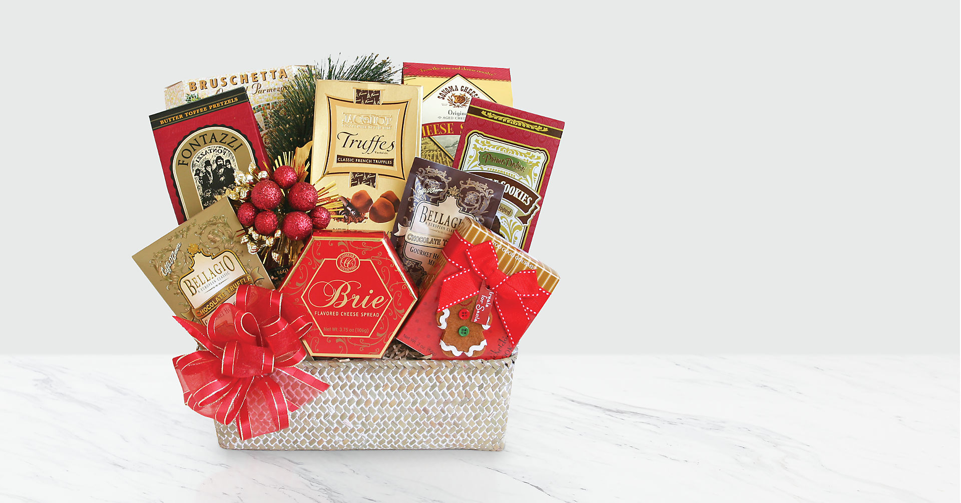 Holiday Festive Feast Gift Basket