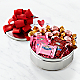 Chocolate Lover's Valentines Assortment Gift Tin - Thumbnail 1 Of 2