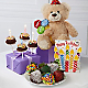 Belgian Chocolate Dipped Birthday Berry, Brownie Pop, Bear & Card - Thumbnail 1 Of 3