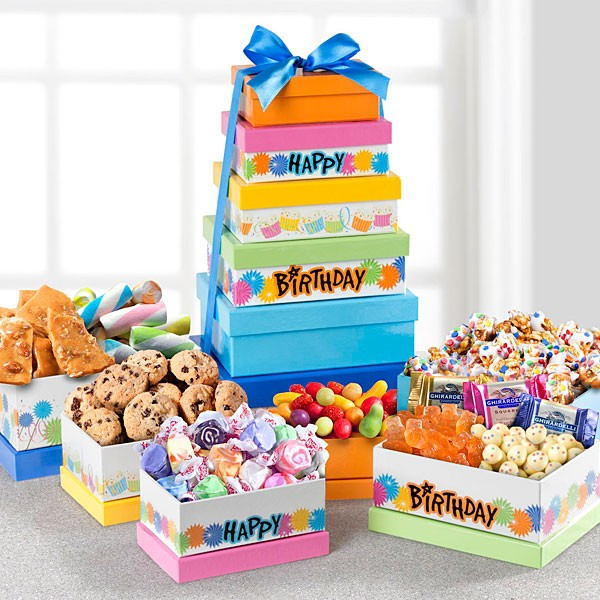 Party Sweets Gourmet Birthday Tower