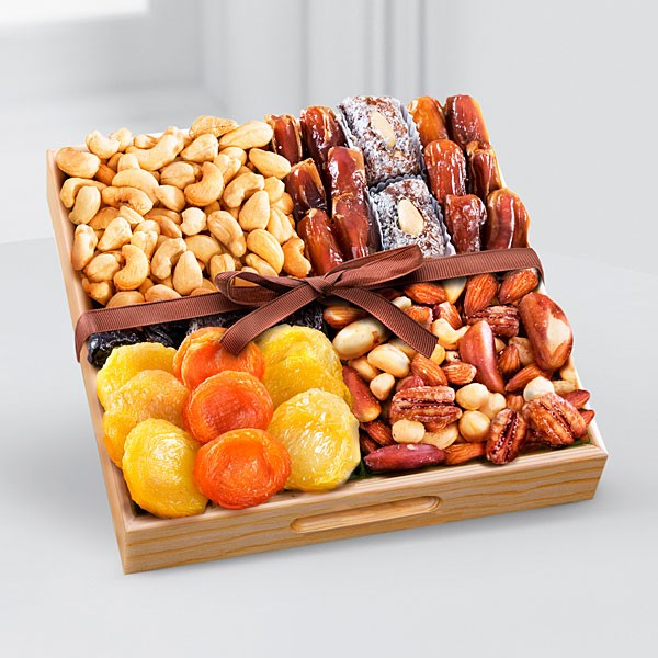 Kosher Dried Fruit & Nut Tray