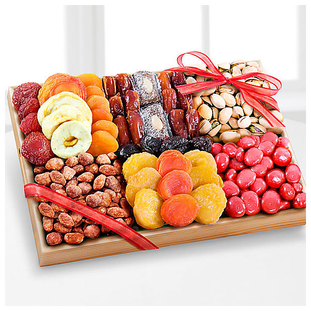 Dried Fruit, Nuts & Sweets Tray -GOOD