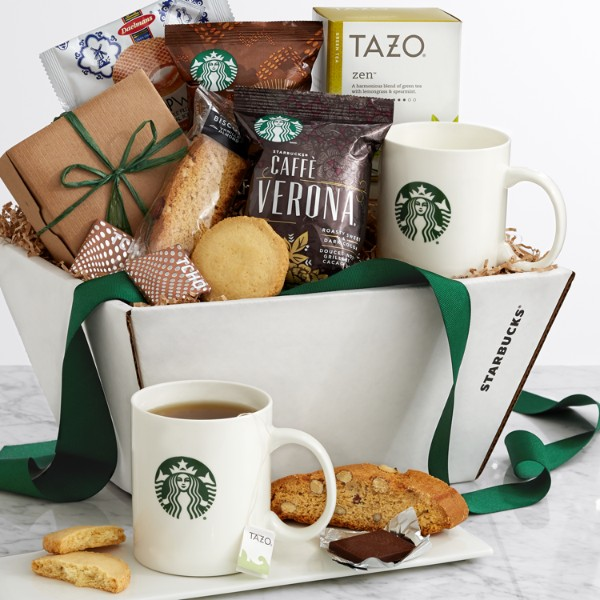 Starbucks® Recharge and Renew Gift Basket