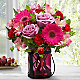 Pink Exuberance Bouquet by Better Homes and Gardens® - Thumbnail 1 Of 3