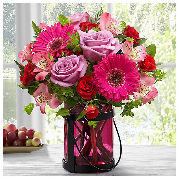 Pink Exuberance Bouquet by Better Homes and Gardens® - Image 1 Of 3