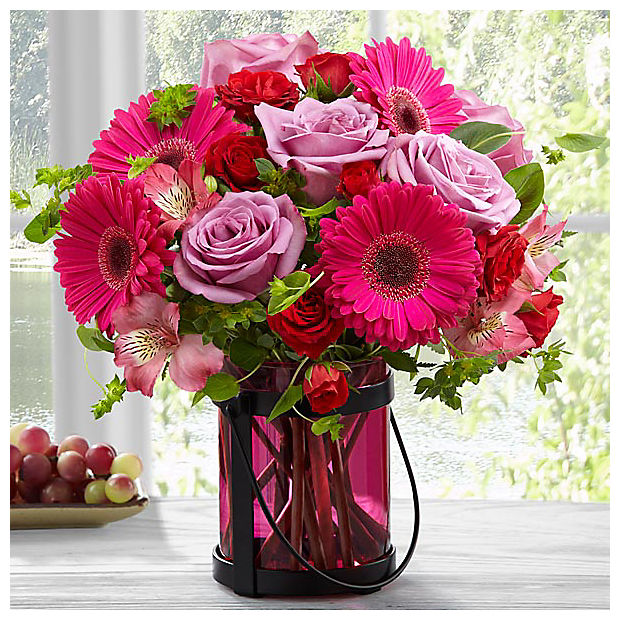 Pink Exuberance Bouquet by Better Homes and Gardens® - VASE INCLUDED - Image 1 Of 3