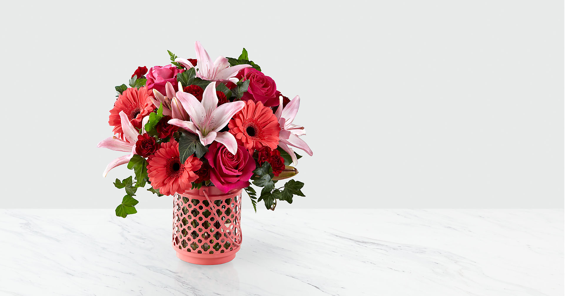 Garden Park™ Bouquet by Better Homes and Garden® - VASE INCLUDED - Image 1 Of 2