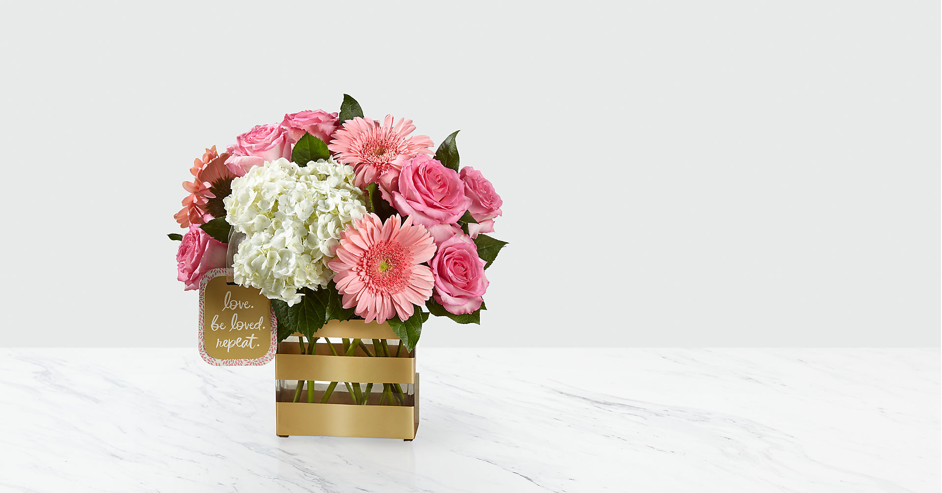 Love Bouquet by Hallmark - VASE INCLUDED - Image 1 Of 2
