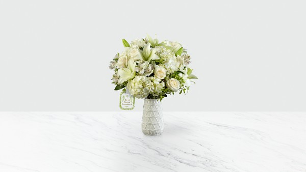 Loved, Honored and Remembered™ Bouquet by Hallmark - VASE INCLUDED - Image 1 Of 2
