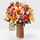 Peace, Comfort and Hope™ Bouquet by Hallmark - VASE INCLUDED - Thumbnail 1 Of 3