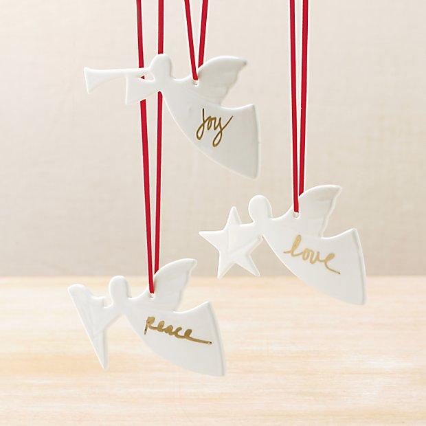 angel wish ornaments