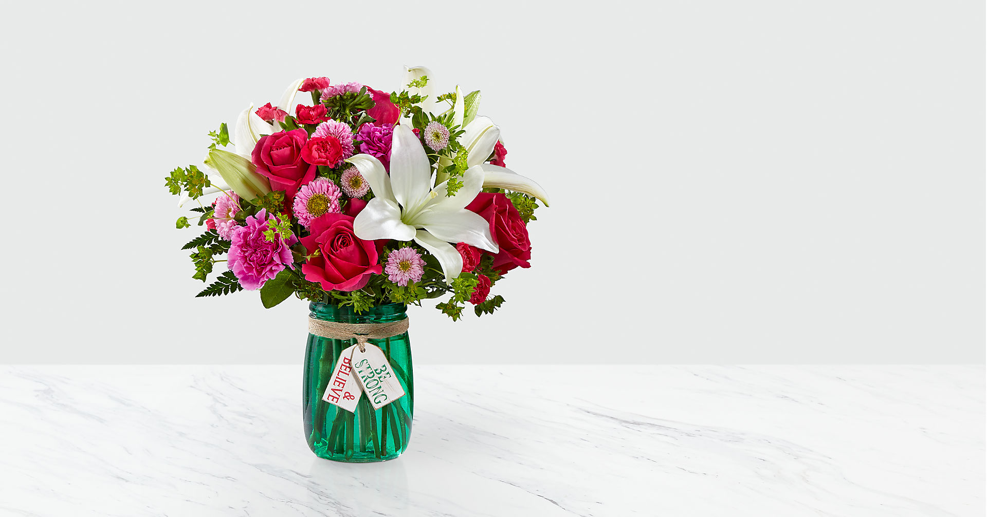 Be Strong & Believe™ Bouquet - Image 1 Of 2