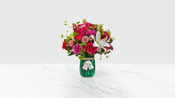 Be Strong & Believe™ Bouquet- VASE INCLUDED - Thumbnail 1 Of 4