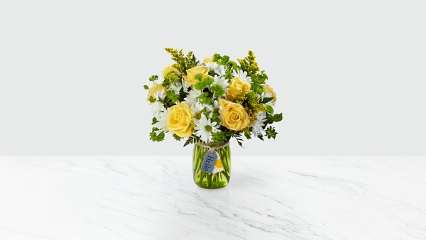 Hello Sun™ Bouquet- VASE INCLUDED - Thumbnail 1 Of 2