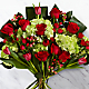Festive Finesse Holiday Luxury Bouquet - VASE INCLUDED - Thumbnail 1 Of 3