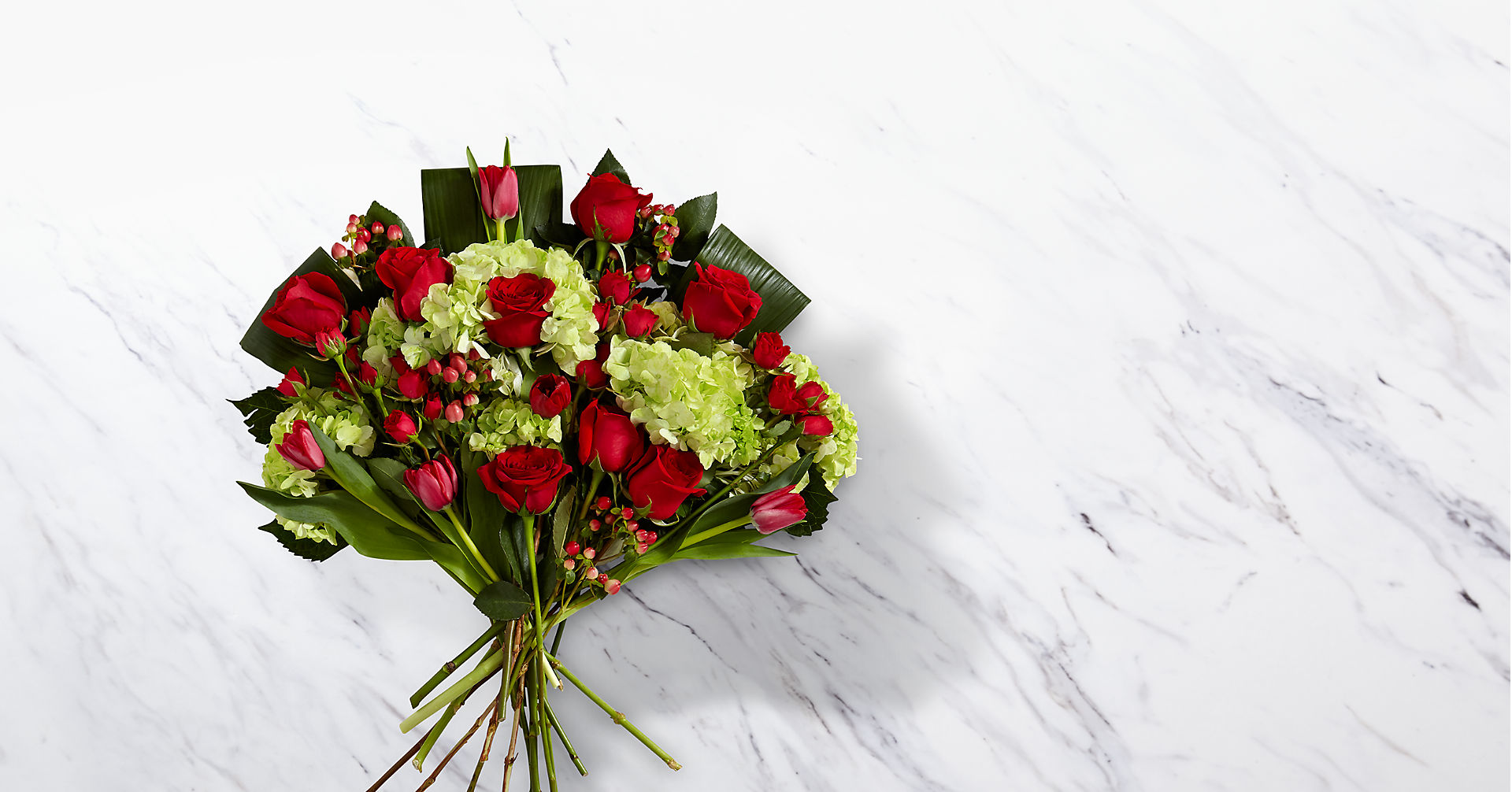 Festive Finesse Holiday Luxury Bouquet - VASE INCLUDED - Image 1 Of 3