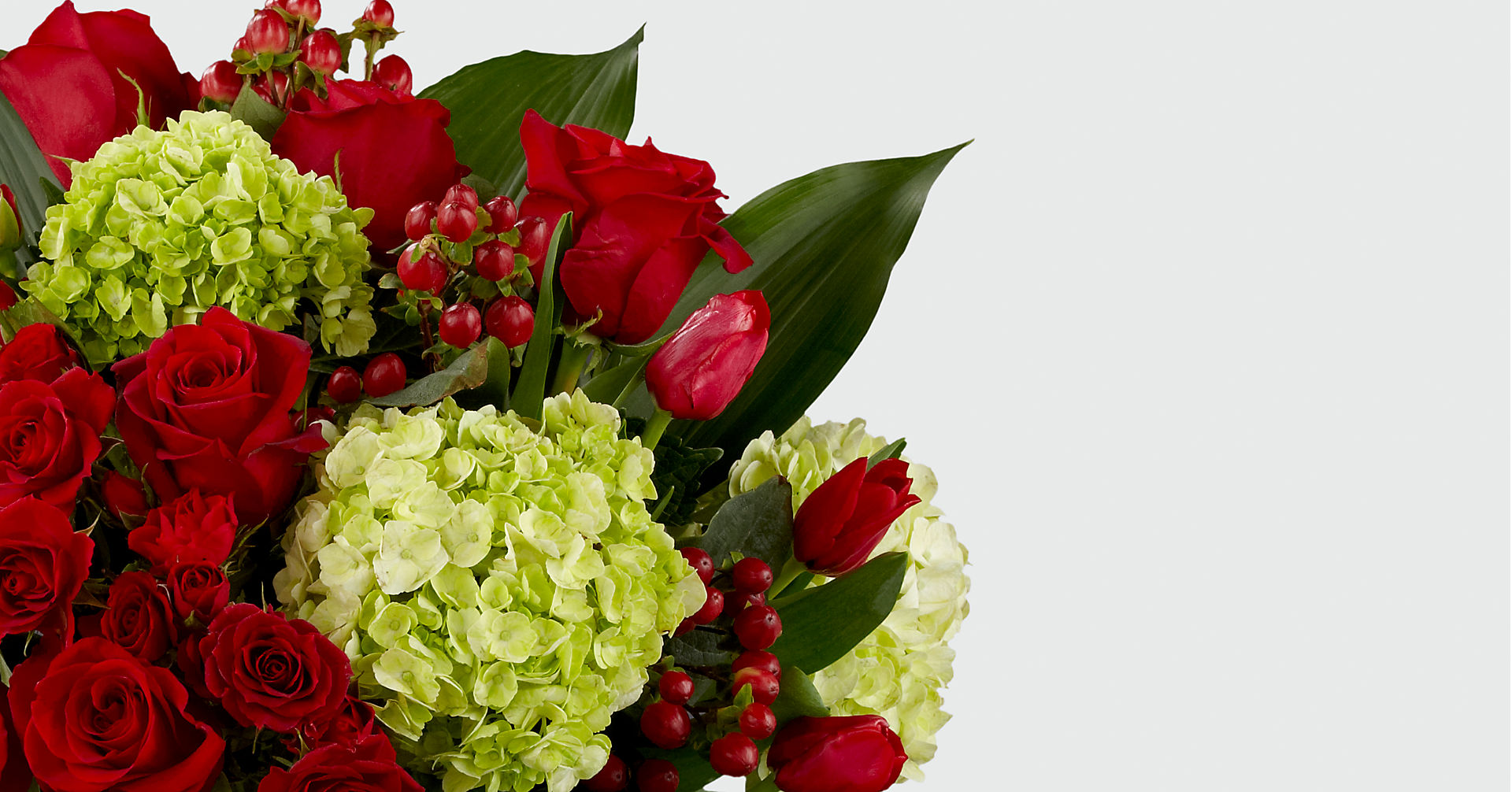 Festive Finesse Holiday Luxury Bouquet - VASE INCLUDED - Image 3 Of 3
