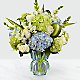 Superior Sights™ Luxury Bouquet - Blue & White - Thumbnail 1 Of 5